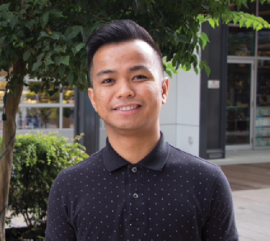 BC Pharmacy Student Ambassador Jerry Mejia is grateful for the opportunities and mentoring he's had over his past four years as a pharmacy student.
