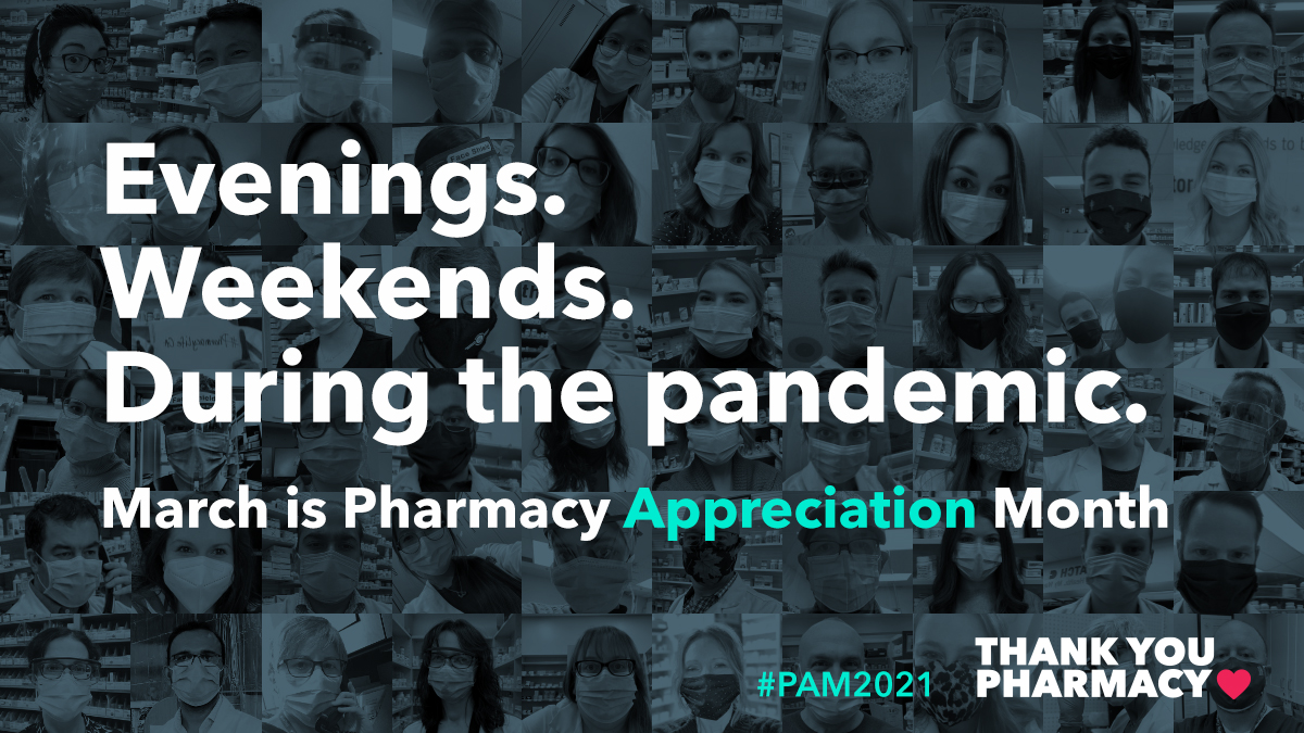 Pharmacy Appreciation Month